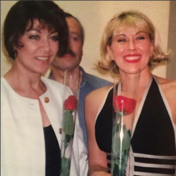 Любовь Успенская показала архивное фото с Эдитой Пьехой