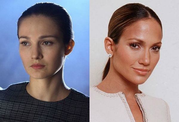 на какую актрису я похожа по фото для