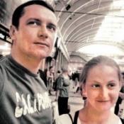 максим матвеев фото с первой женой