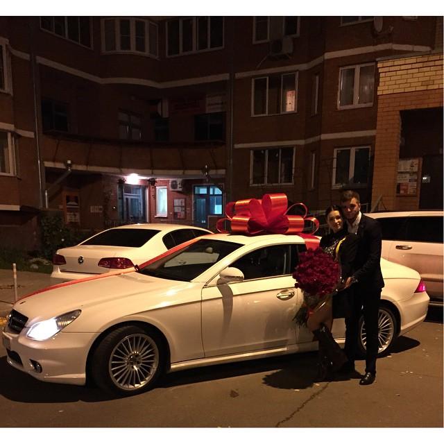 подарок машина